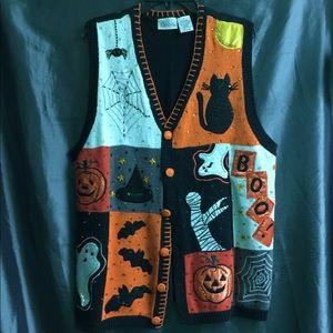 Halloween Sweater Vest